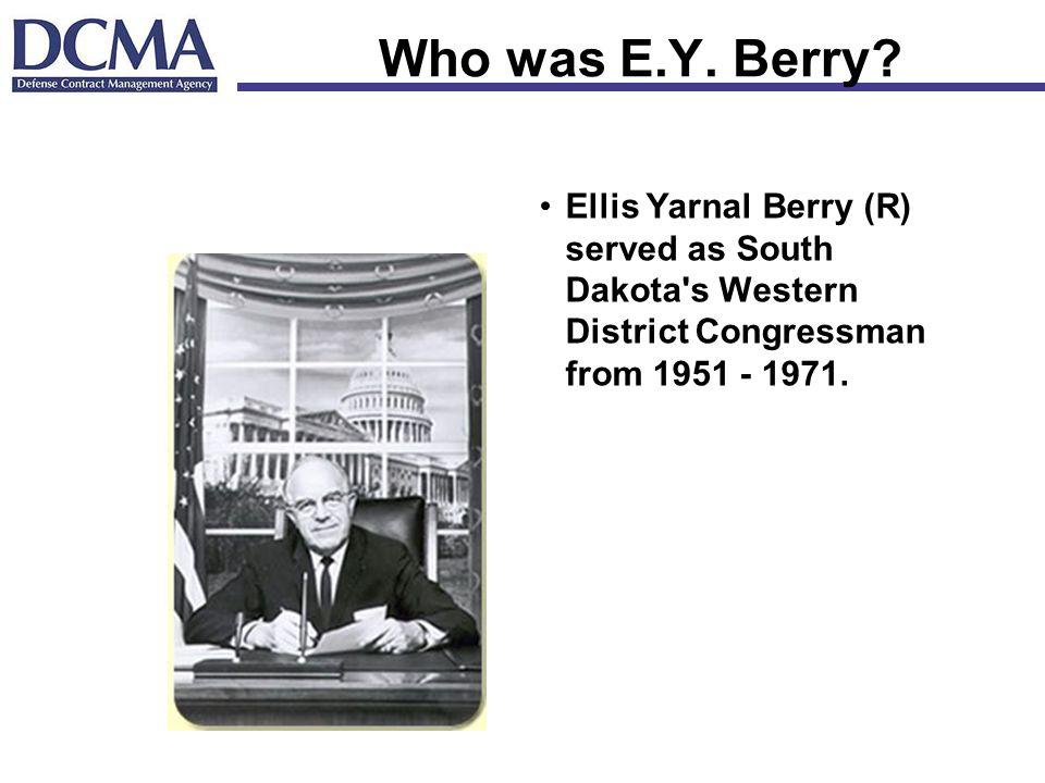 Who was E.Y. Berry.