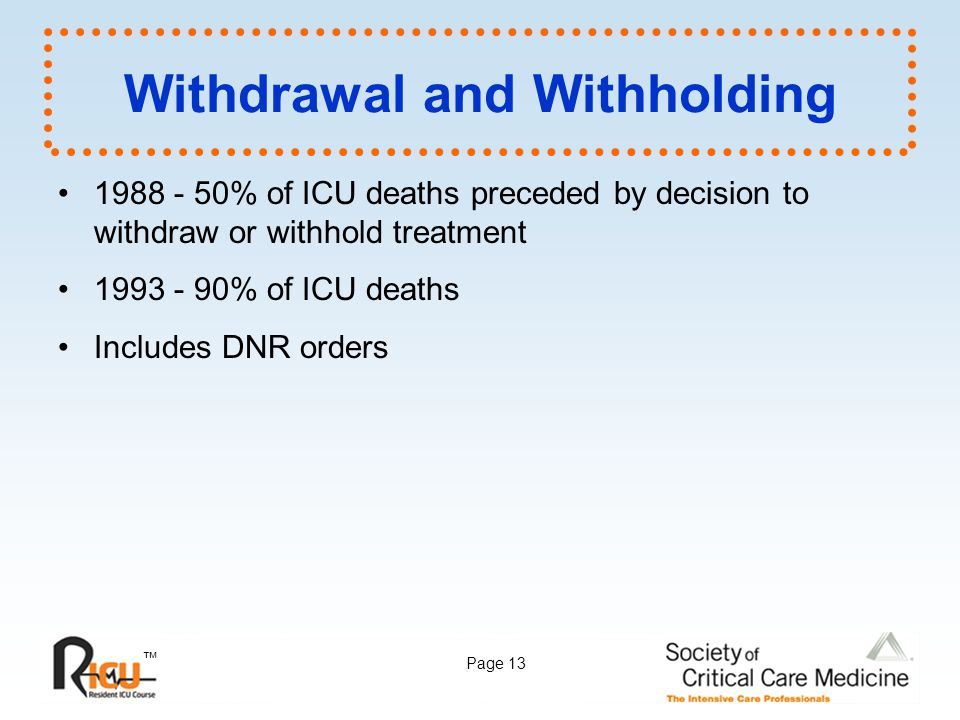 Withdrawal and Withholding