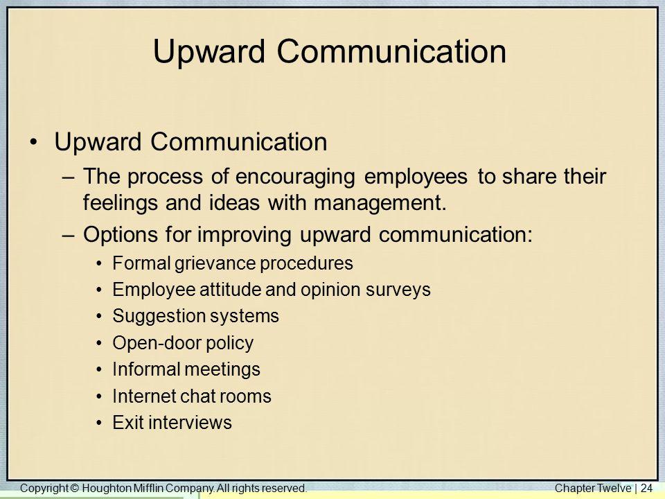 Upward Communication Upward Communication
