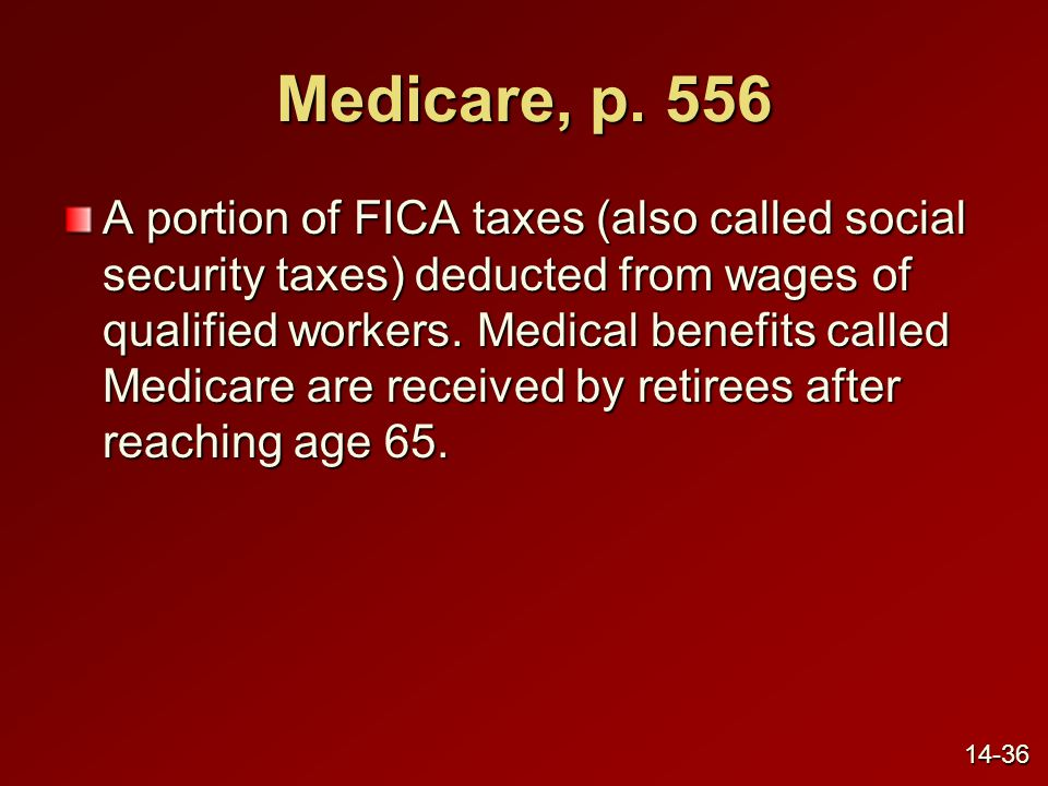 Medicare, p. 556