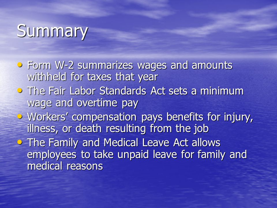 Work Laws And Responsibilities - Ppt Video Online Download