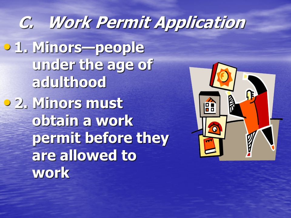 C. Work Permit Application
