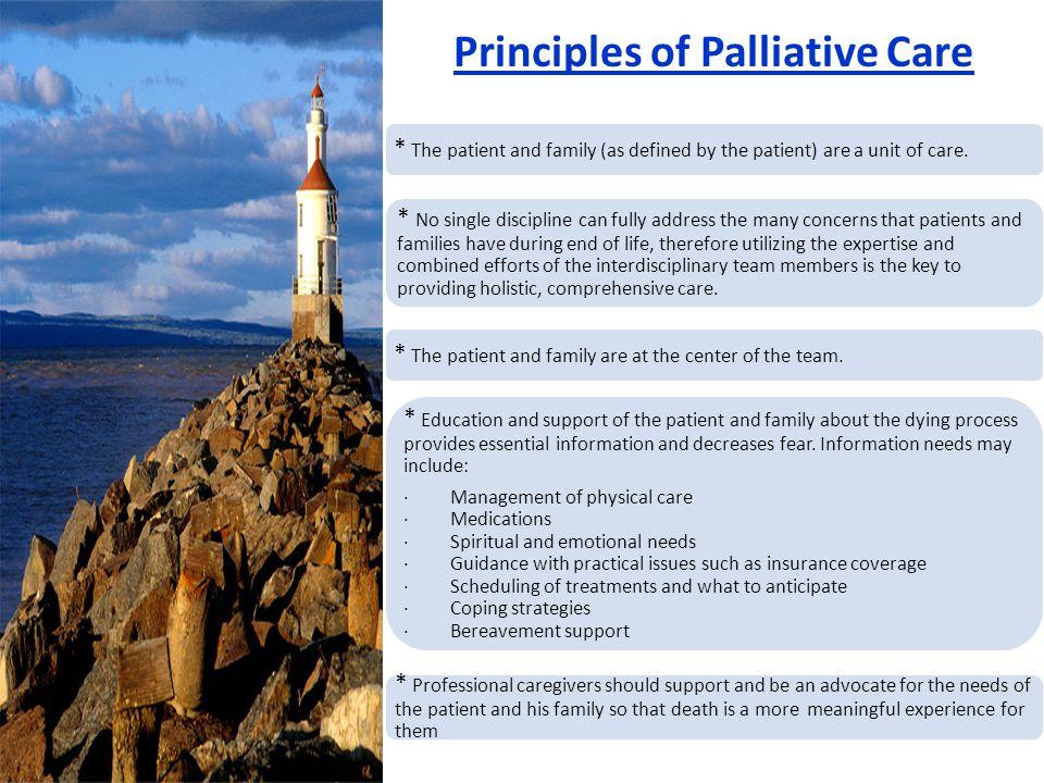 Principles of Palliative Care