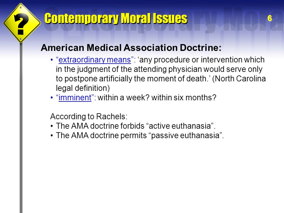 American Medical Association Doctrine: