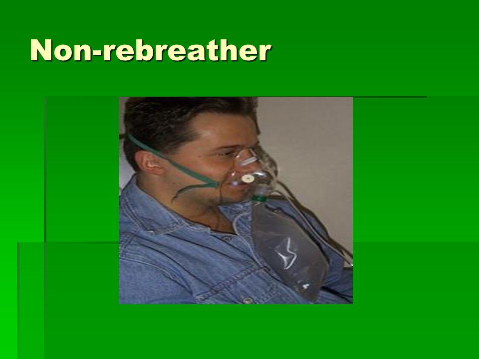 Non-rebreather