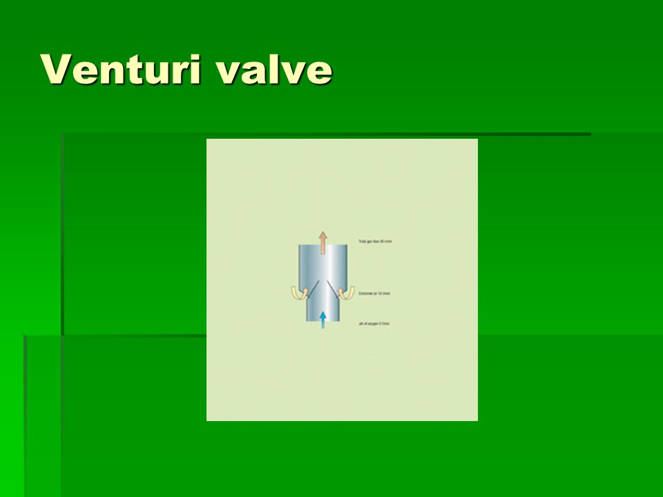 Venturi valve