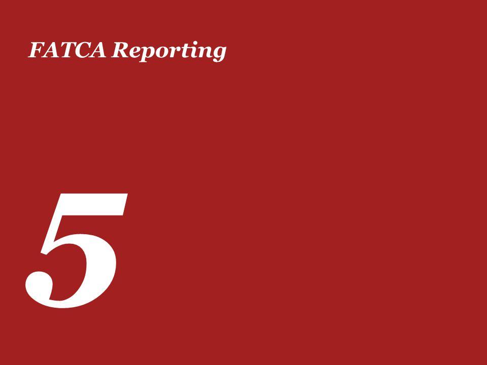 FATCA Reporting 5