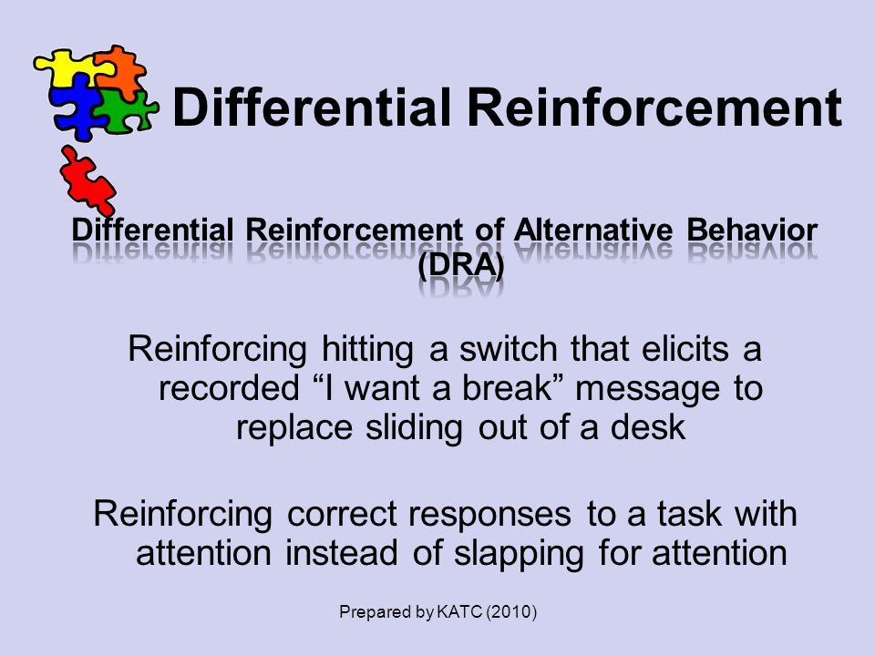 Differential Reinforcement