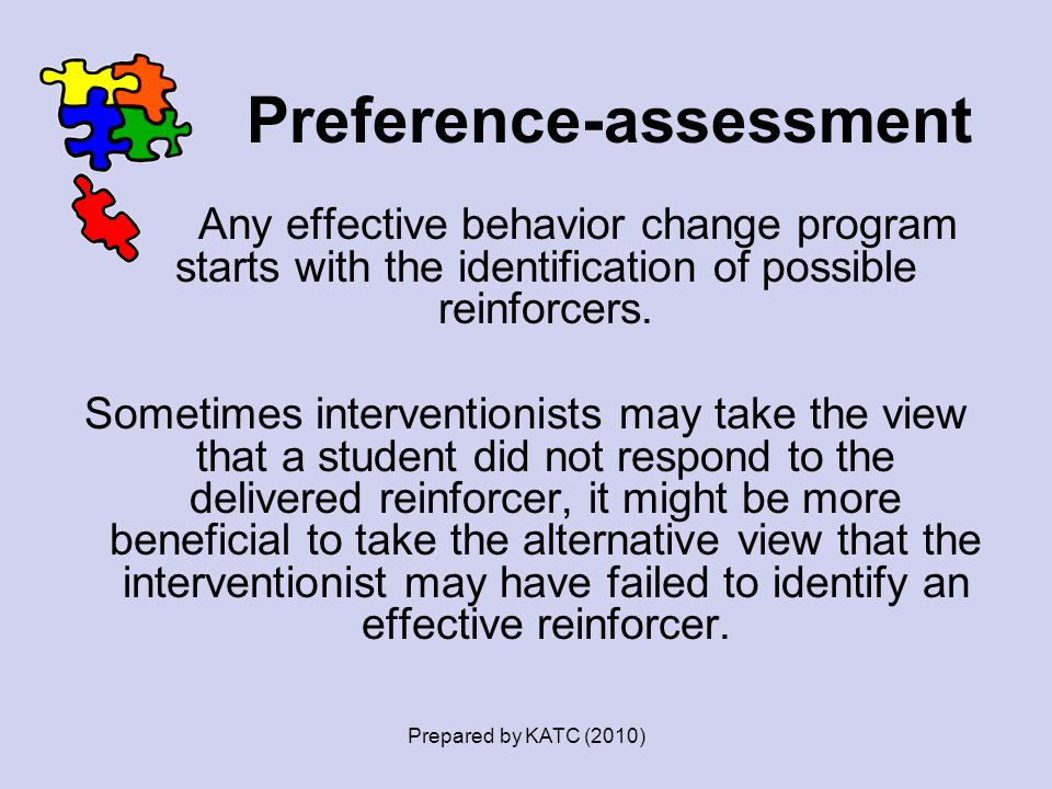 Preference-assessment