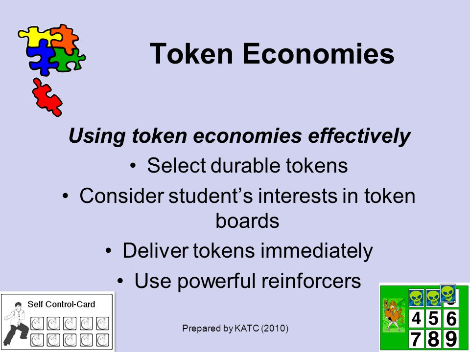 Using token economies effectively
