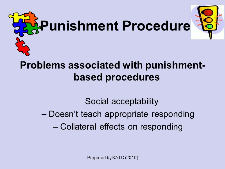 Punishment Procedures