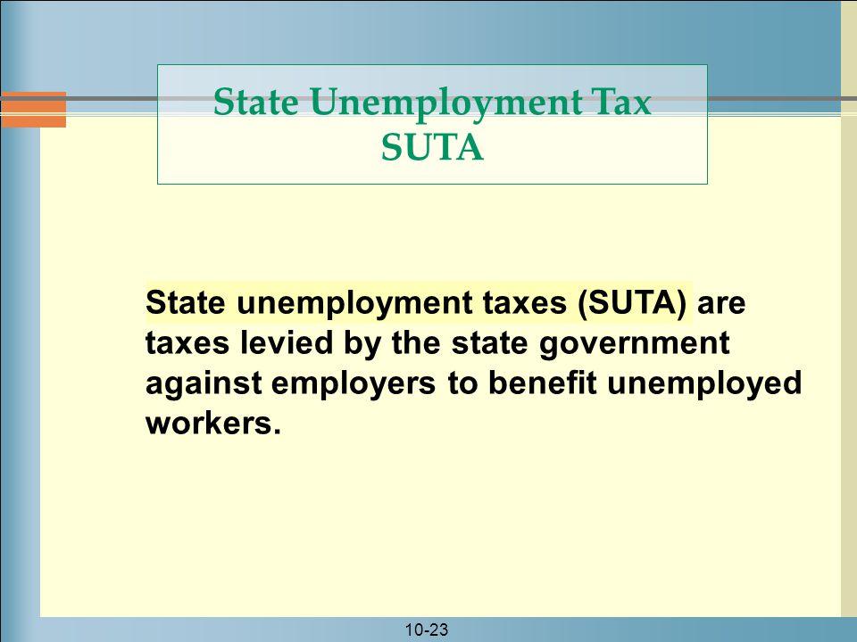 State Unemployment Tax