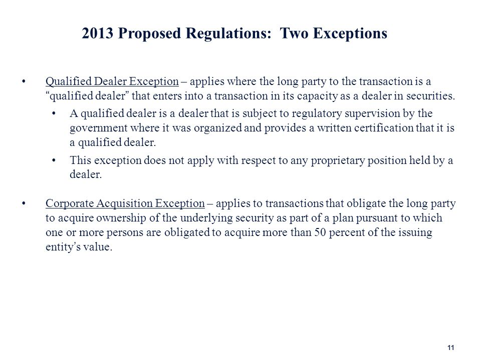 2013 Proposed Regulations: Reporting Requirements