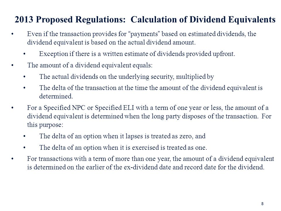 2013 Proposed Regulations: Qualified Index Exception