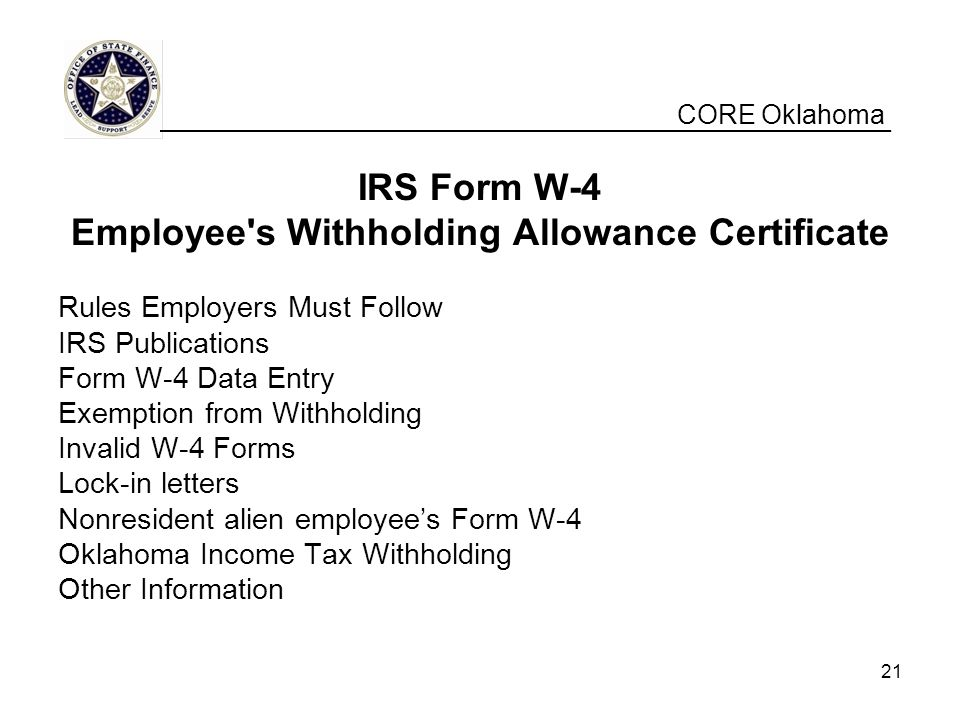 Employee s Withholding Allowance Certificate