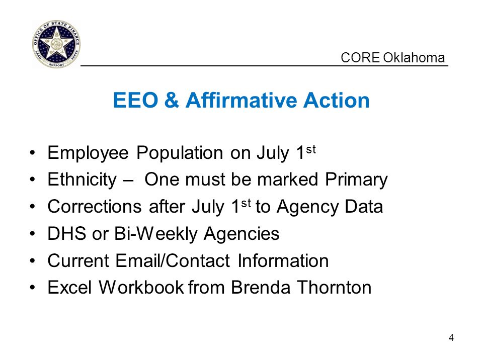 EEO & Affirmative Action