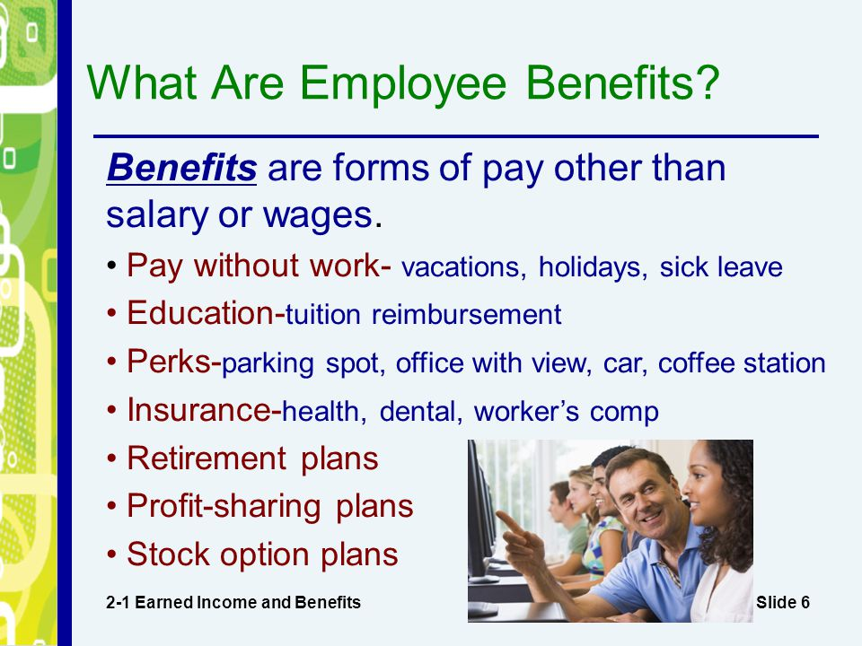 What Are Employee Benefits