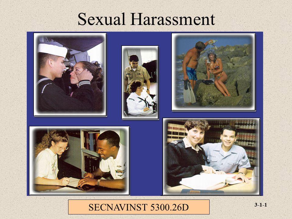 Sexual Harassment SECNAVINST 5300.26D
