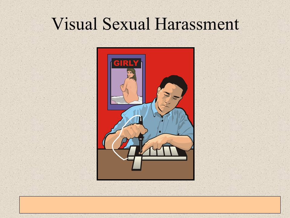 Visual Sexual Harassment