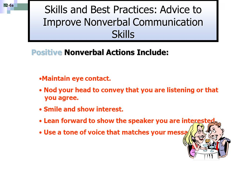 Skills and Best Practices: Advice to Improve Nonverbal Communication Skills