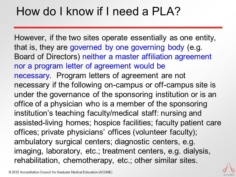 How do I know if I need a PLA