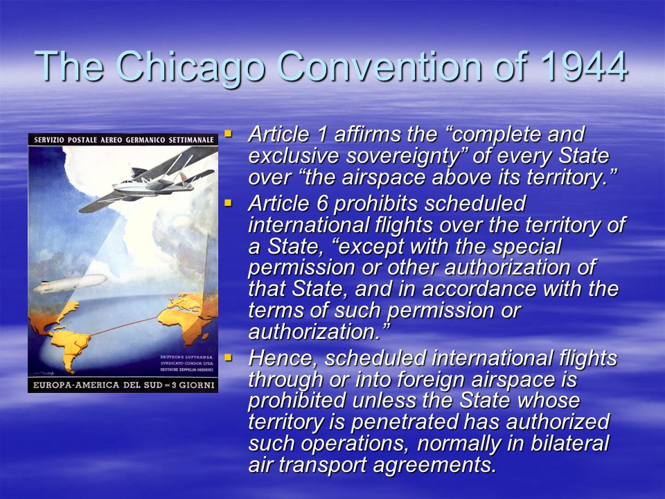 The Chicago Convention of 1944