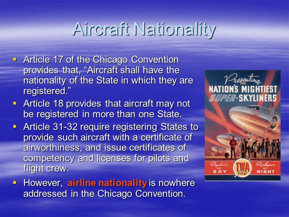 Aircraft Nationality
