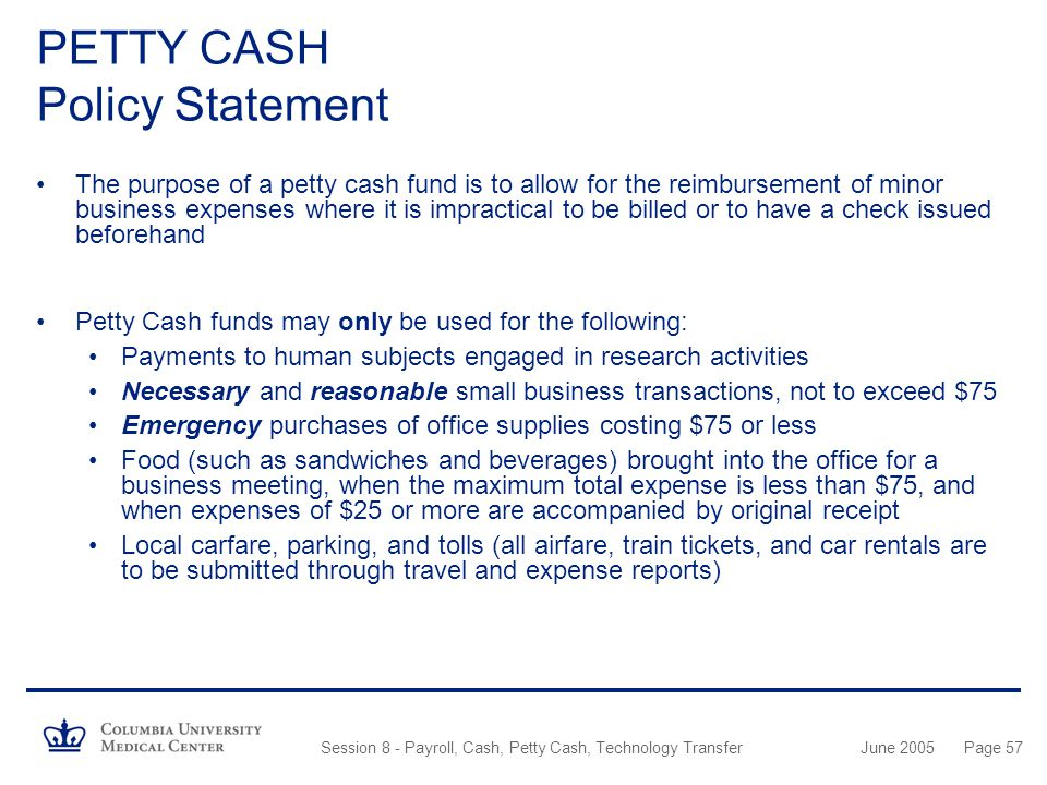 Free petty cash voucher template sample petty cash voucher for Cash advance policy template