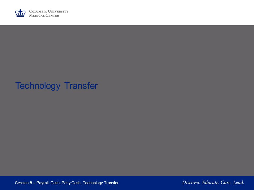 Part 4 Technology Transfer