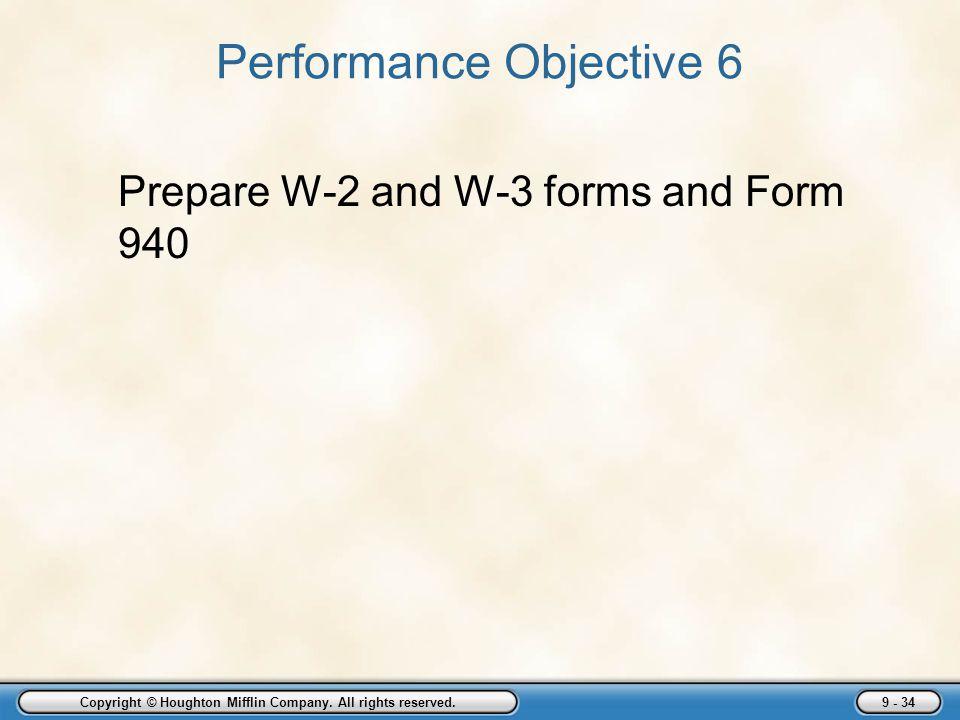 Performance Objective 6