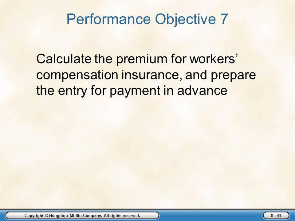 Performance Objective 7