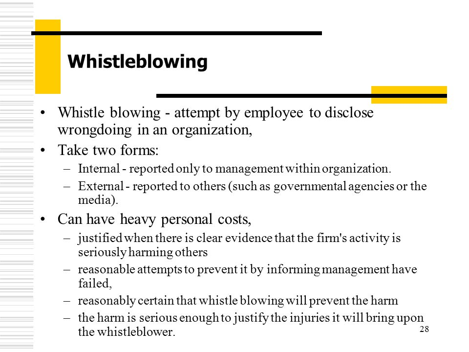 research papers whistle blowing Whistle blowing term papers discuss the the key points around whistle blowing and whether it benefits or hurts a company or organization.