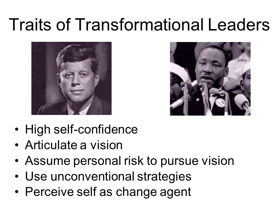 Traits of Transformational Leaders