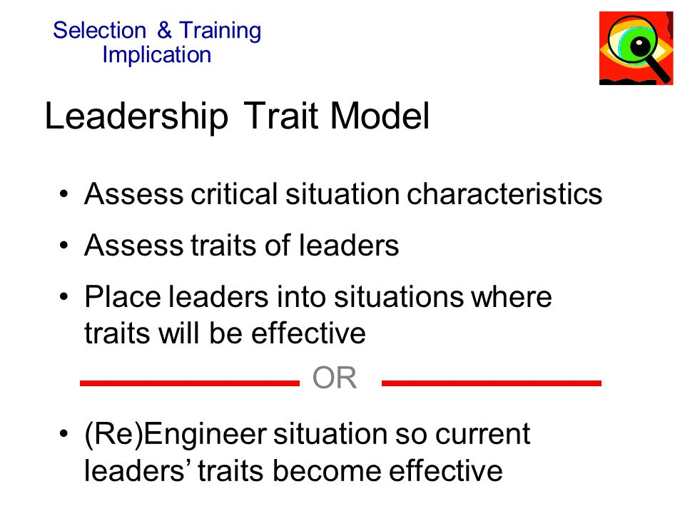Leadership Trait Model