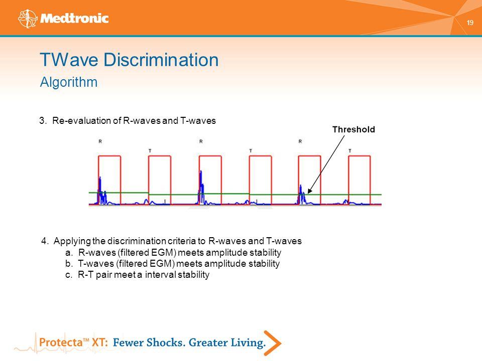 TWave Discrimination Algorithm 3. Re-evaluation of R-waves and T-waves