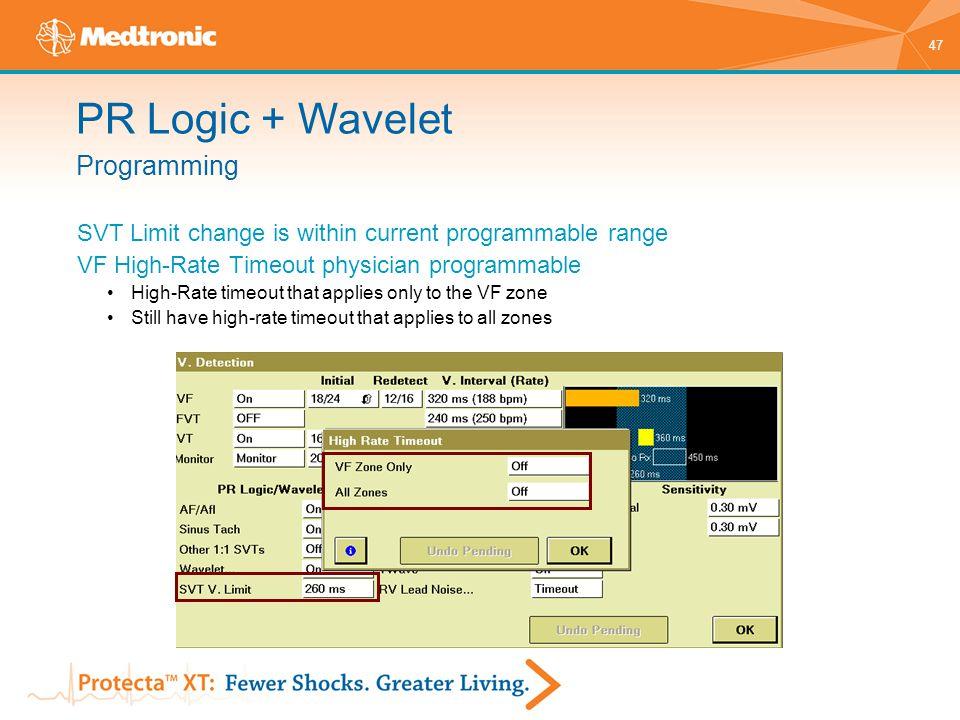 PR Logic + Wavelet Programming