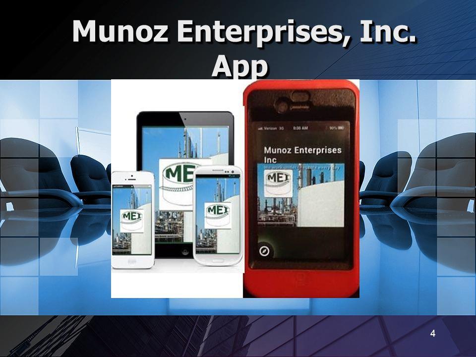 Munoz Enterprises, Inc. App
