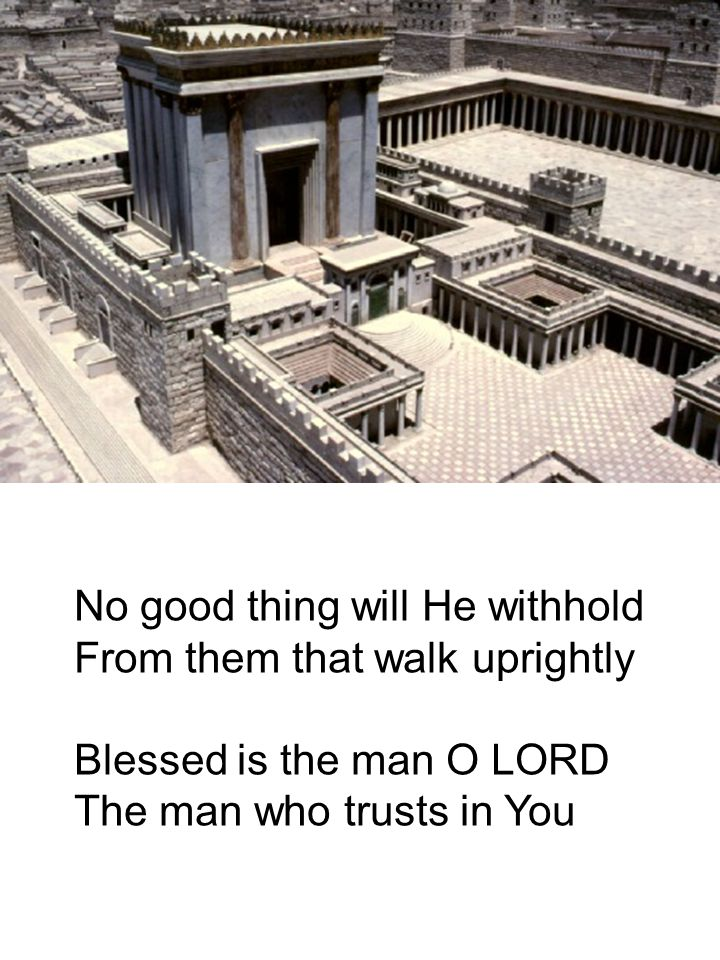 No good thing will He withhold