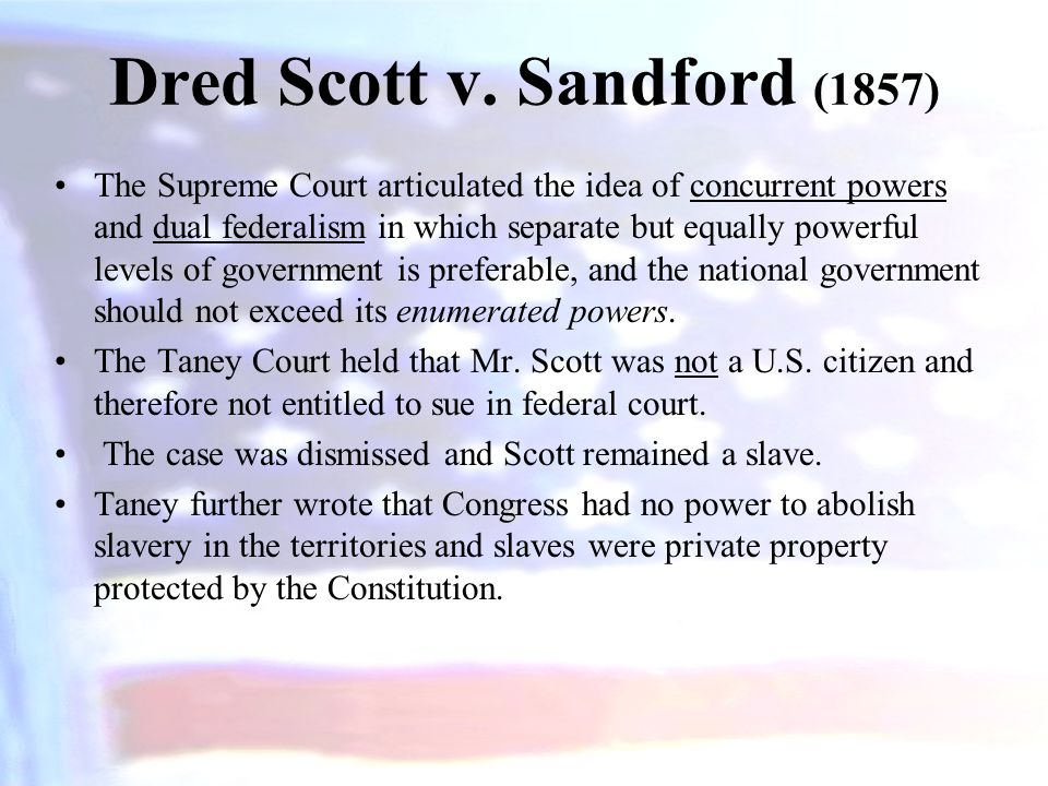 Dred Scott v. Sandford (1857)