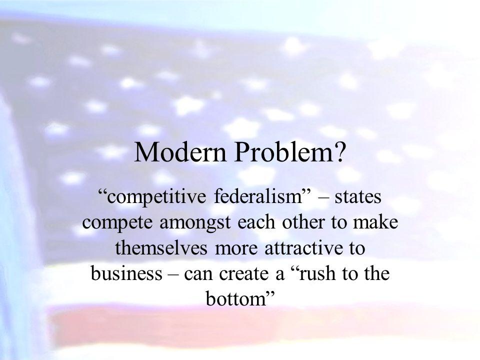 Modern Problem