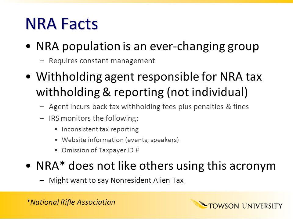 *National Rifle Association