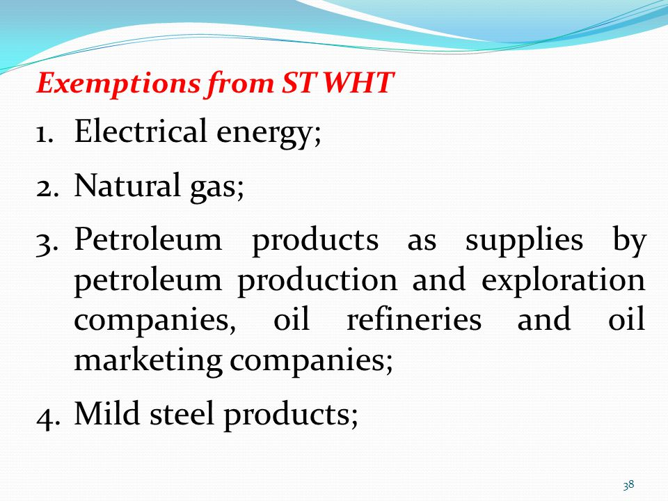 Electrical energy; Natural gas;