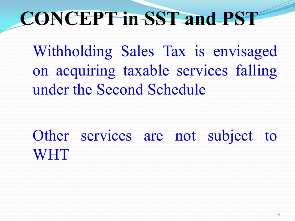 CONCEPT in SST and PST