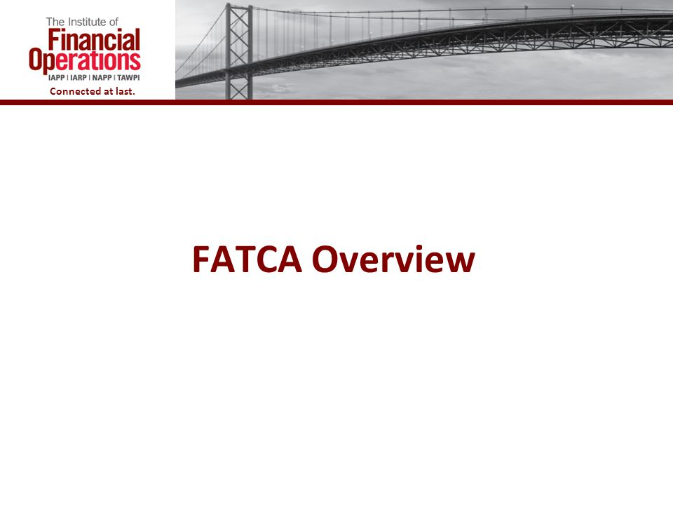 FATCA Overview