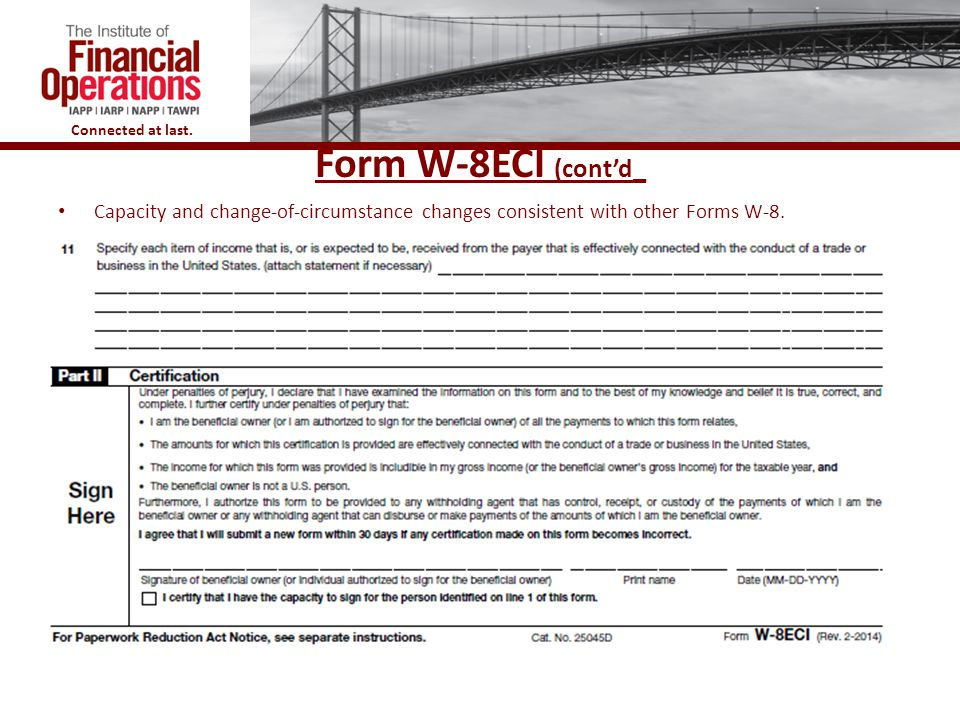 Updates to Forms W-8 and W-9 and the Coordination Regulations ...