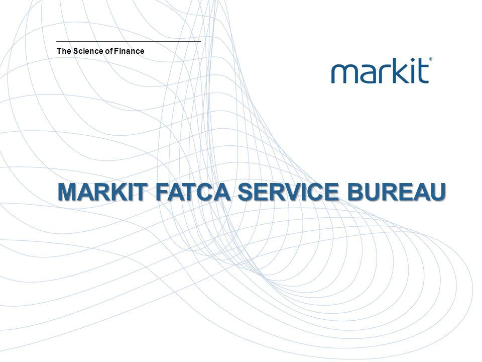 MARKIT FATCA SERVICE BUREAU