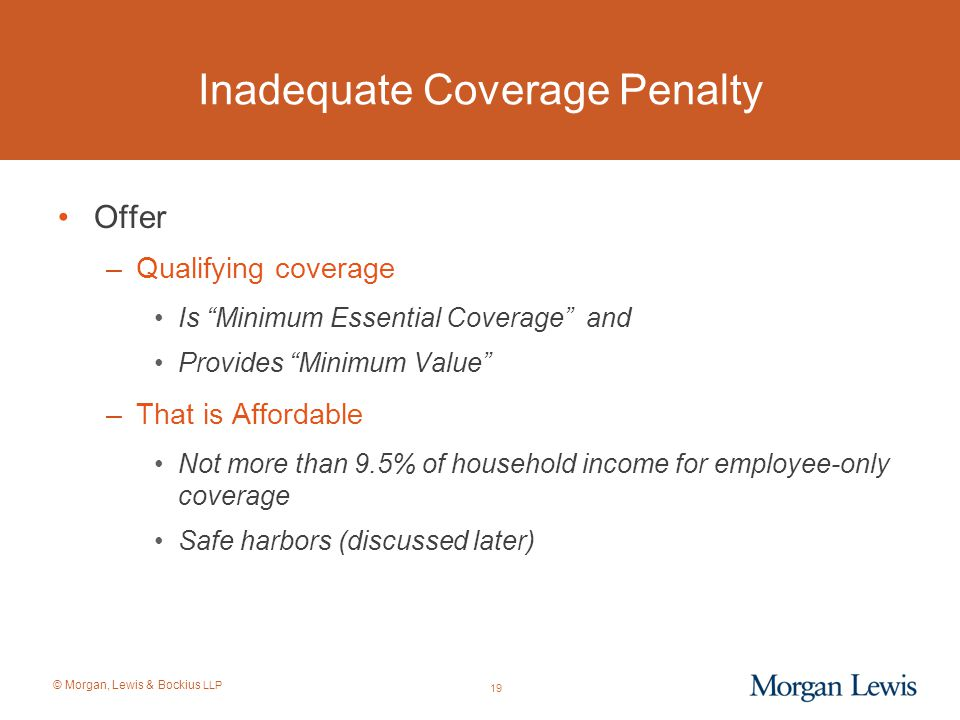 Inadequate Coverage Penalty