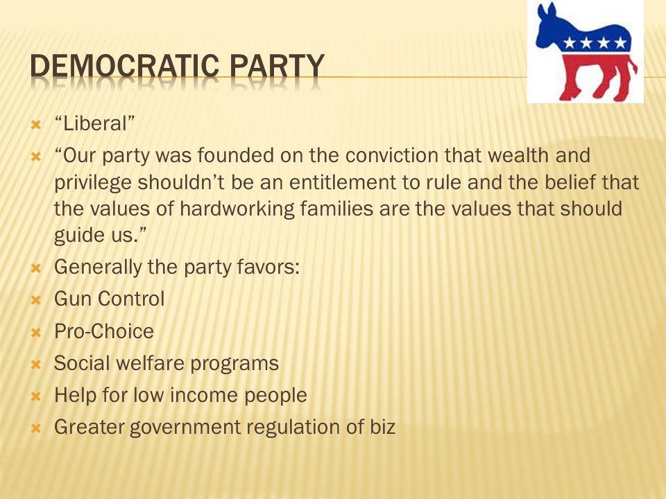 Democratic Party Liberal