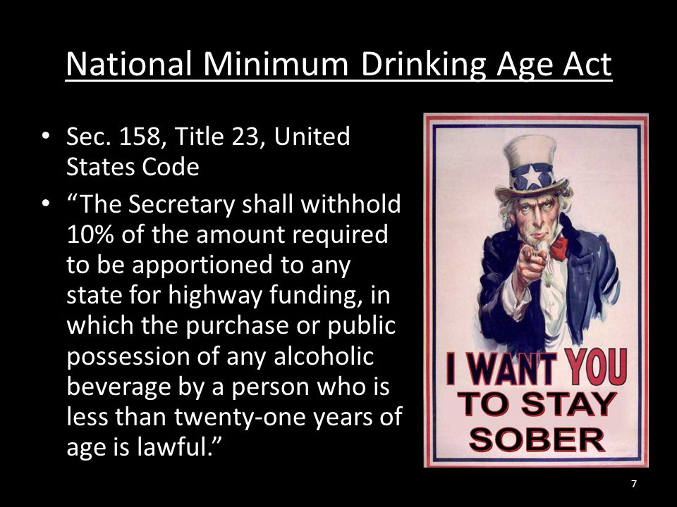 National Minimum Drinking Age Act