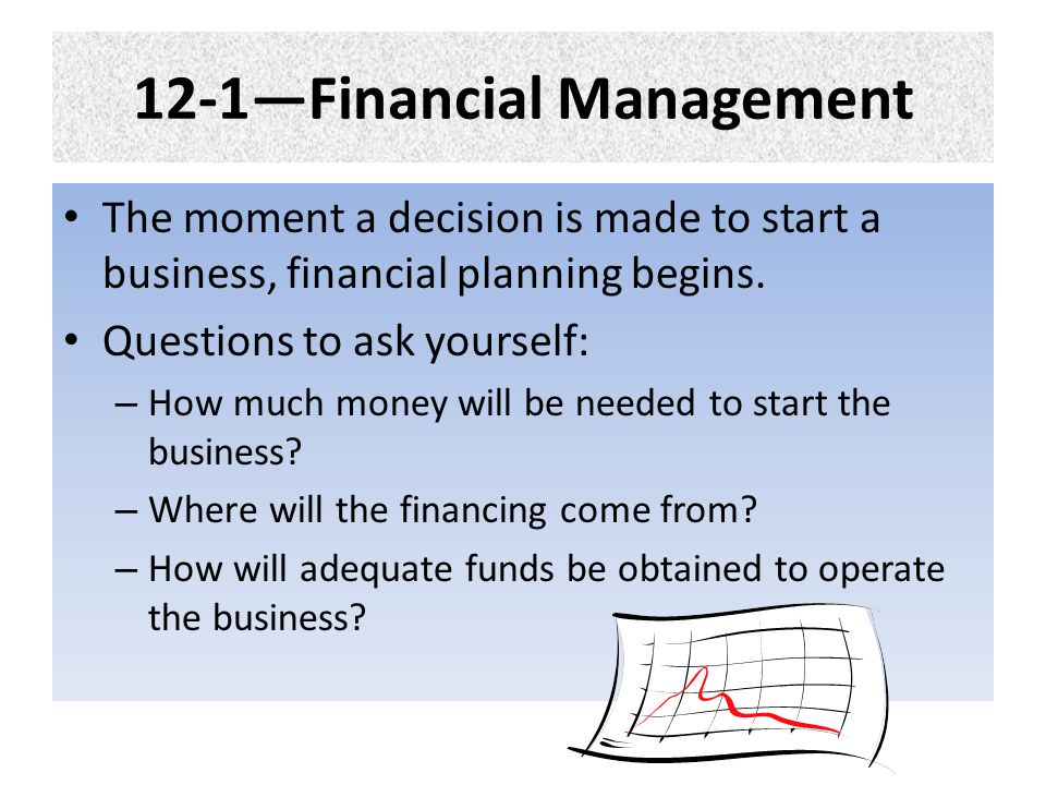 12-1—Financial Management